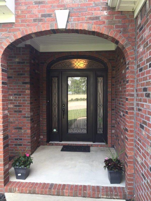 353 Covington Ridge Drive front door
