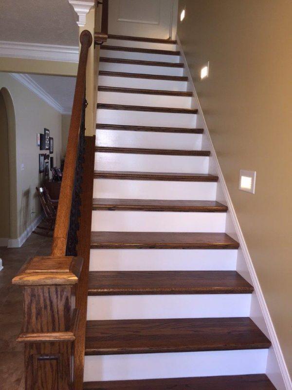 353 Covington Ridge Drive stairs